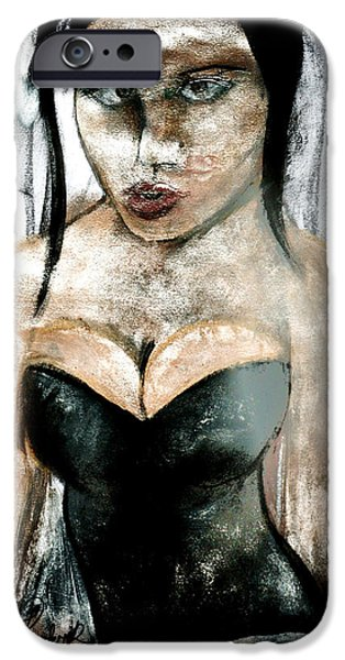 Seductive iPhone Cases - Lasting Impression iPhone Case by Sean Roderick