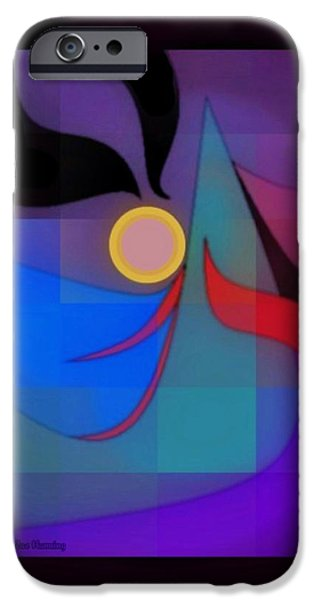 Graphic Design iPhone Cases - Late Bloomer iPhone Case by Kristine Rae Hanning