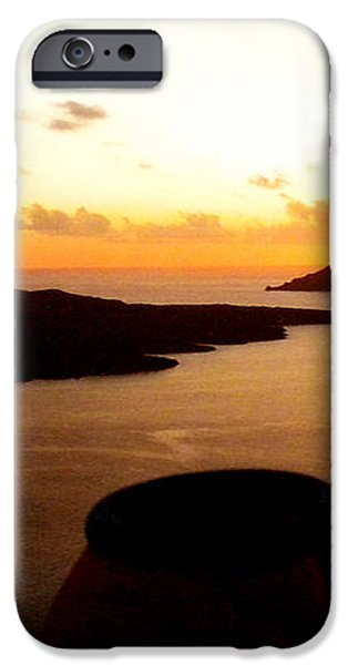 Late Sunset Santorini  Island Greece iPhone Case by Colette V Hera  Guggenheim