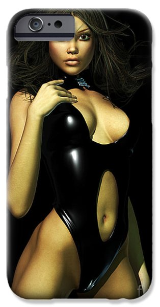 Dominating iPhone Cases - Latex Fun iPhone Case by Alexander Butler