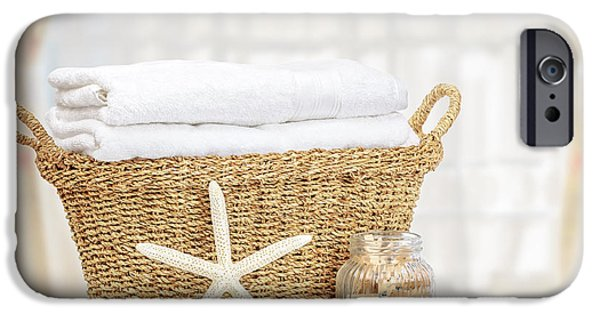 Wicker iPhone Cases - Laundry Basket iPhone Case by Amanda And Christopher Elwell