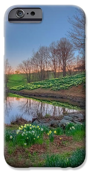 Laurel Ridge Sunset iPhone Case by Bill  Wakeley