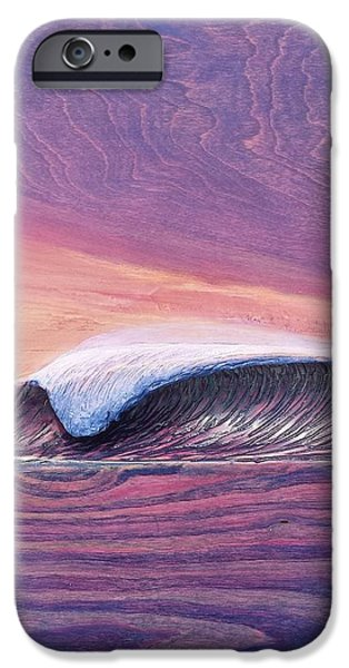 Ocean Reliefs iPhone Cases - Lava Tube iPhone Case by Nathan Ledyard