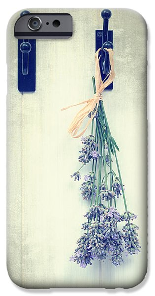 Lavender iPhone Cases - Lavender iPhone Case by Amanda And Christopher Elwell