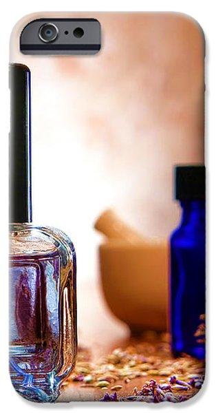 Lavender Shop iPhone Case by Olivier Le Queinec