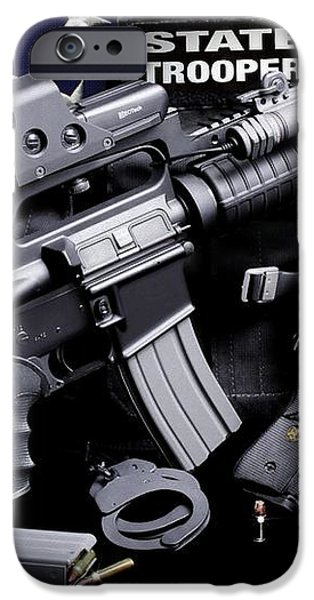 Law Enforcement Tactical Trooper iPhone Case by Gary Yost