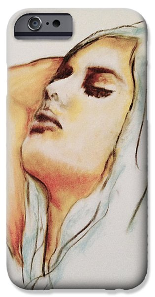 Thinking Pastels iPhone Cases - Lax iPhone Case by Courtney James