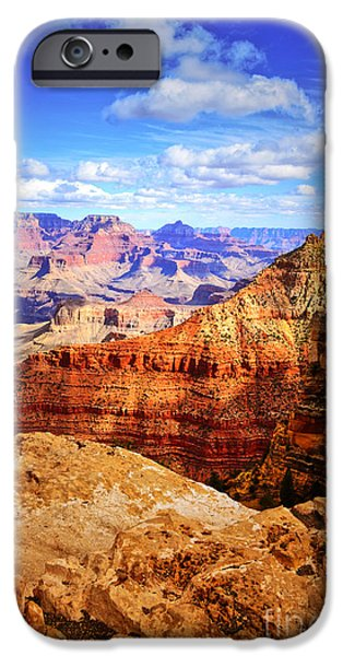 Tara Turner iPhone Cases - Layers of the Canyon iPhone Case by Tara Turner