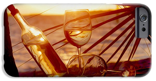 Vineyard In Napa iPhone Cases - Lazy Day  iPhone Case by Jon Neidert