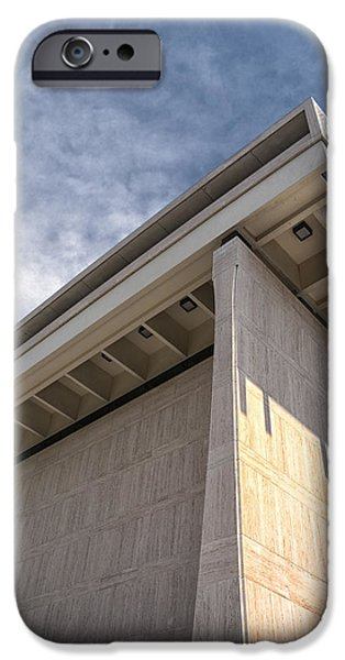 Historic Site iPhone Cases - LBJ Library and Museum iPhone Case by Joan Carroll