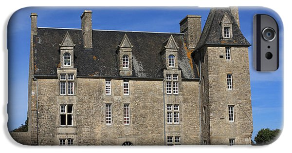 Reform iPhone Cases - Le Chateau Saint Pierre iPhone Case by Aidan Moran