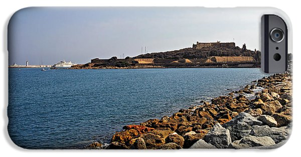 Interior Scene iPhone Cases - Le Fort Carre - Antibes - France iPhone Case by Christine Till