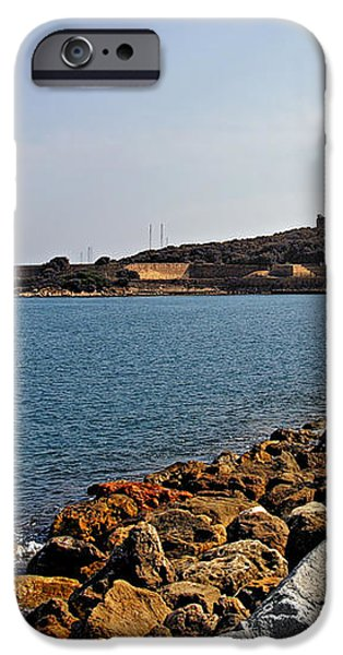 Le Fort Carre - Antibes - France iPhone Case by Christine Till