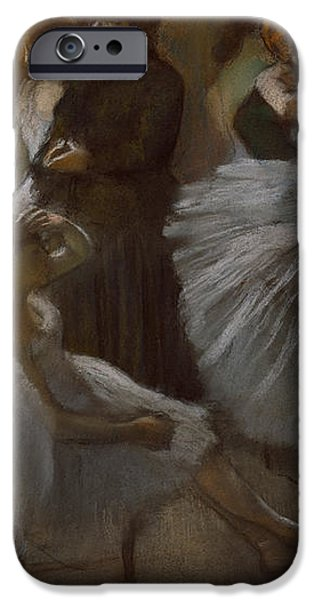 Le Foyer de l'Opera iPhone Case by Edgar Degas