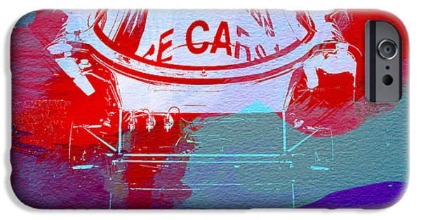 Concept iPhone Cases - Le Mans Racer during pit stop iPhone Case by Naxart Studio