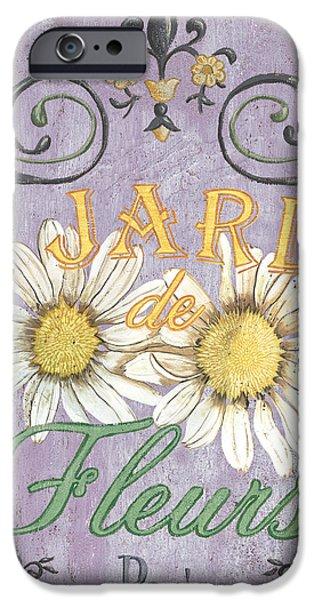 Le Marche Aux Fleurs 5 iPhone Case by Debbie DeWitt
