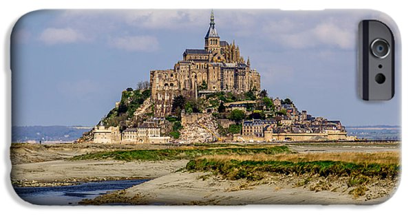Recently Sold -  - Cathedral Rock iPhone Cases - Le Mont Saint Michel iPhone Case by Rui Marques