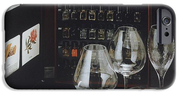 Table Wine iPhone Cases - Le Nez du Vin iPhone Case by Jerry McElroy