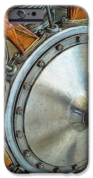 Le Rhone C-9J Engine iPhone Case by Michelle Calkins