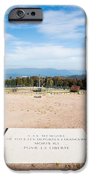 Concentration iPhone Cases - Le Struthof Former Nazi Concentration iPhone Case by Panoramic Images