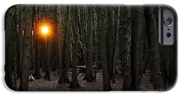 Eerie iPhone Cases - The Guiding Light iPhone Case by Debbie Oppermann