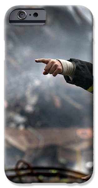 Leading through Chaos iPhone Case by Mountain Dreams