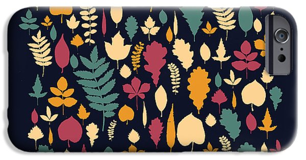 Leaf iPhone Cases - Leaf Collection iPhone Case by Budi Satria Kwan