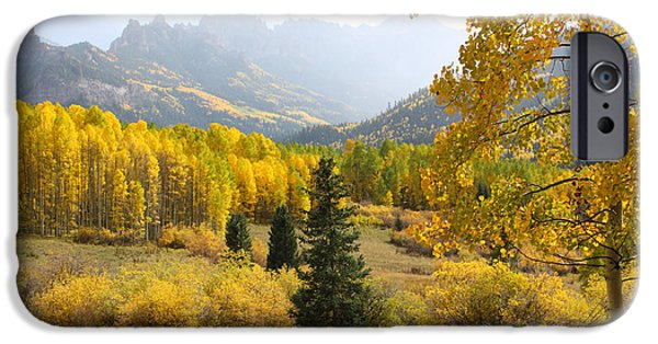West Fork iPhone Cases - Leaf Days iPhone Case by Eric Glaser
