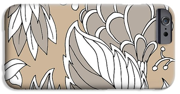 Design iPhone Cases - Leaf Elements iPhone Case by John Takai
