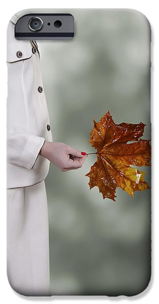 Tree. Sycamore iPhone Cases - Leaf iPhone Case by Joana Kruse