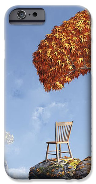 Leaf Peepers iPhone Case by Cynthia Decker