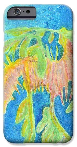 Leafy SeaDragon iPhone Case by Tanya Hamell