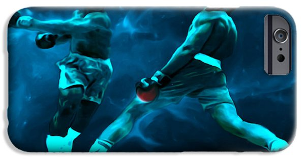 Olympic Gold Medalist iPhone Cases - Lean Back iPhone Case by Brian Reaves