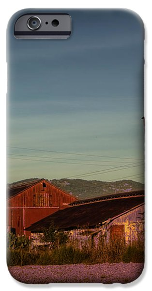 Leaning Silo  iPhone Case by Bill Gallagher