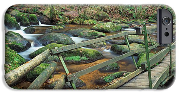 Becky Photographs iPhone Cases - Leap Of Faith Broken Bridge, Becky iPhone Case by Panoramic Images