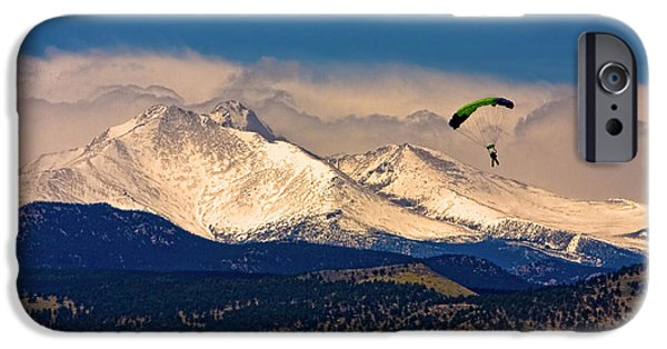 Front Range iPhone Cases - Leap of Faith iPhone Case by James BO  Insogna