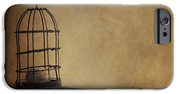 Birdcage iPhone Cases - Learning process iPhone Case by Priska Wettstein