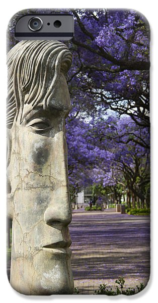 For Busines iPhone Cases - Learning to love purple iPhone Case by Taschja Hattingh
