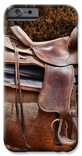 Worn Leather iPhone Cases - Leather iPhone Case by Kelley King