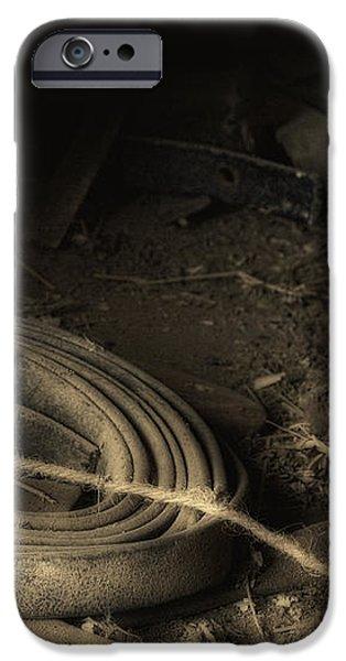 Leather Strap Still Life iPhone Case by Tom Mc Nemar