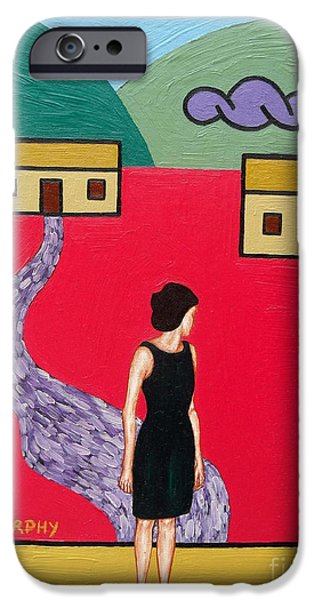 Famine iPhone Cases - Leaving iPhone Case by Patrick J Murphy