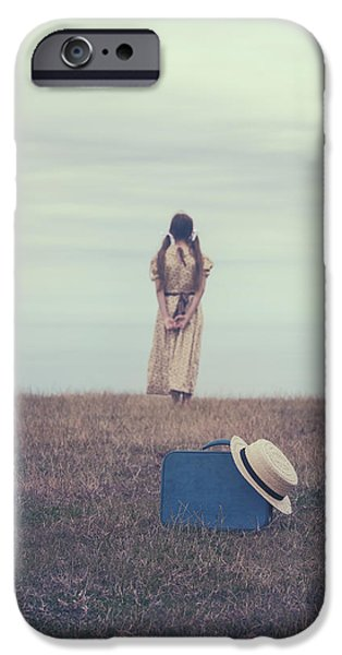 leaving the past behind me iPhone Case by Joana Kruse