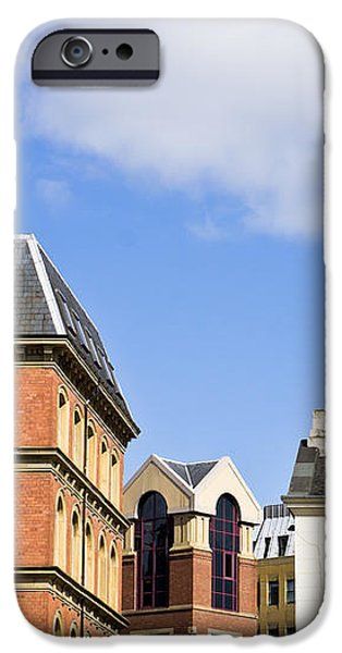 Leeds buildings iPhone Case by Tom Gowanlock