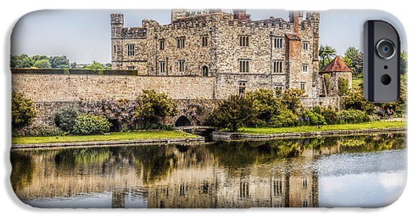 United iPhone Cases - Leeds Castle iPhone Case by Shirley Mangini