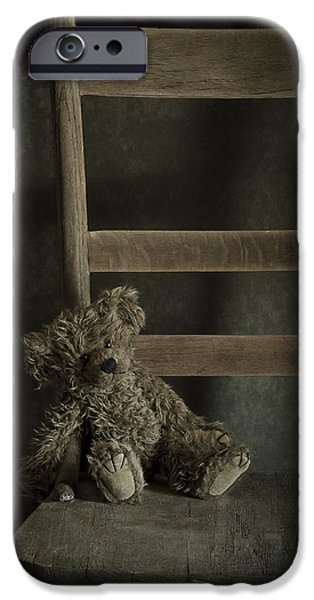 Stuffed Animal iPhone Cases - Left Behind iPhone Case by Amy Weiss