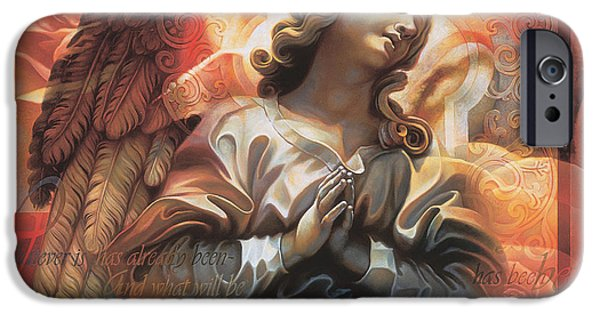 Renaissance iPhone Cases - Legacy iPhone Case by Mia Tavonatti