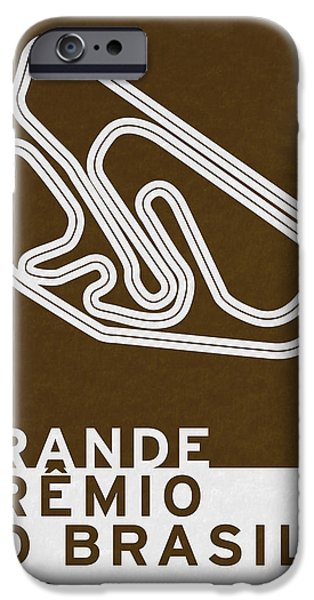 Concept iPhone Cases - Legendary Races - 1973 Grande Premio do Brasil iPhone Case by Chungkong Art