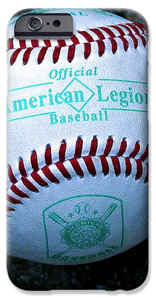Legion Baseball iPhone Case by Colleen Kammerer