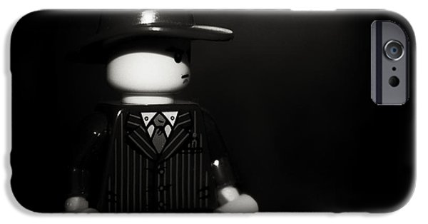 Film iPhone Cases - Lego Film Noir 1 iPhone Case by Cinema Photography