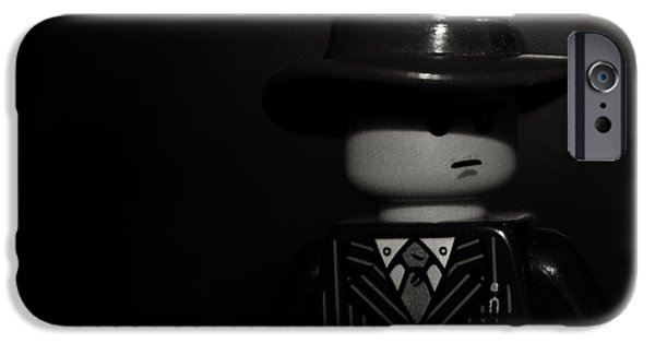 Film iPhone Cases - Lego Film Noir II iPhone Case by Cinema Photography